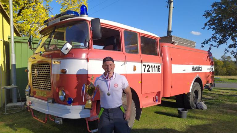 Železný hasič Veľká nad Veličkou